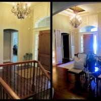 Rustic Modern Chateau – Entry